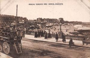 Margate, Marine Terrace and Sands, animated, truck, carriage