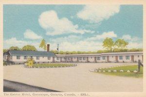 GANANOQUE , Ontario , Canada , 1930s ; The Ganroc Motel