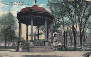 The Henry Clap Statue,  Capitol Square,   Richmond,  Virginia,   PU_1912