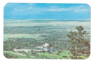 Colorado Springs Broadmoor Hotel Lake Aerial View Postcard