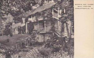 Virginia Charlottesville Michies Old Tavern Built 1735 1765 Albertype