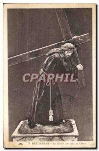 Old Postcard Betharram Christ Carrying the Cross