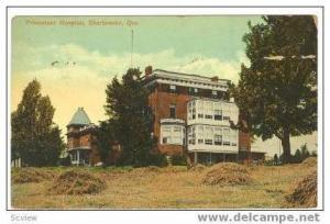 Protestant Hospital, Sherbrooke, Quebec, Canada, 1913