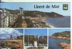 Postal::  Costa Brava-Lloret de Mar