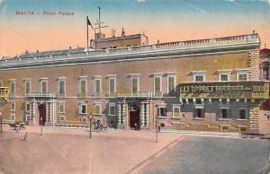 Malta - Royal Palace 1916 PPC