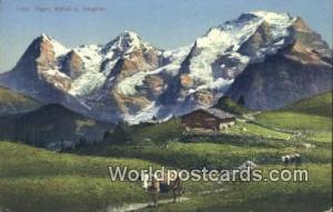 Eiger Swizerland, Schweiz, Svizzera, Suisse Monch U Jungfrau Eiger Monch U Ju...