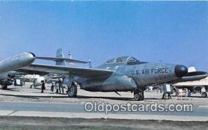 WPAFB, Ohio, USA Postcard Post Card Northrop F89J Scorpion