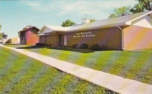 Iowa Kalona Museum and Archives Of The Mennonite Historical Society 1980