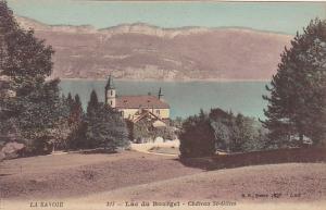 France Aix-les-Bains Lac du Bourget Chateau St Gilles