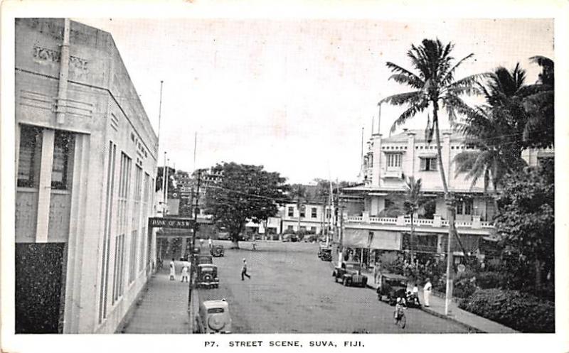Suva Fiji Street Scene Suva Street Scene