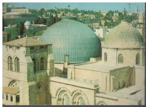 Postcard - The Church Of the Holy Sepulchre - Jerusalem Israel