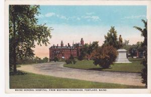 Maine General Hospital, from Western Promenade, Portland, Maine, 10-20s