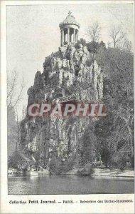 Old Postcard PARIS Le Belvedere des Buttes-Chaumont