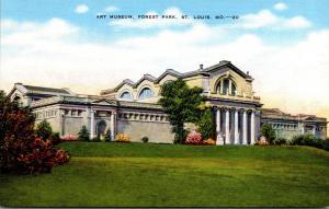 Art Museum Forest Park St Louis Missouri