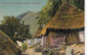 PANAMA , 1900-1910s ; Native huts at TABOGA