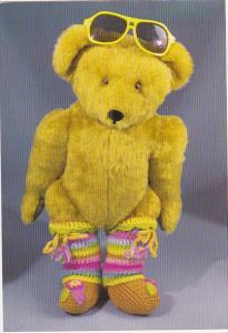 Handmade Sir Edward Teddy Bear Crafted by Terry and Doris Michaud