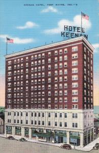 Keenan Hotel, FORT WAYNE, Indiana, 20-30's