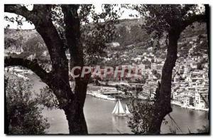Modern Postcard Villefranche Sur Mer Vue Prize between Olives
