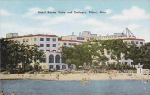 Mississippi Biloxi Hotel Buena Vista And Cottages