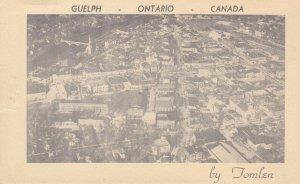 RP: GUELPH , Ontario , Canada , 30-40s ; Bifold w/ Santa Claus Christmas phot...