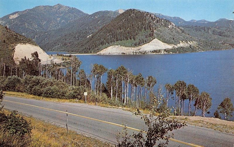 Swan Valley And Alpine Idaho~Palisade Reservoir~1960 Postcard