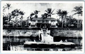 CLEARWATER, FL  BON-AIR  Pedro L. Serrailes Distiller Residence   Postcard