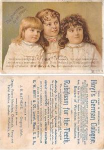 approx size inches = 3.25 x 4.5 Trade Card, Tradecard