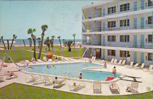 Florida Saint Petersburg Coral Reef Motor Inn With Pool 1966