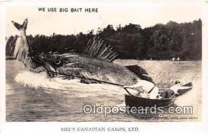 Me's Canadian Camps, LTD  Postcards Post Cards Old Vintage Antique  Me's Cana...