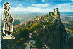 Repubblica di S. Marino, The First Tower Panorama Postcard
