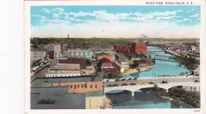 SIOUX FALLS, South Dakota, 1910-20s; River View, Bridges