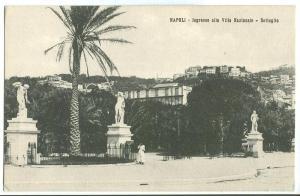 Italy, Napoli, Ingresso alla Villa Nazionale, Dettaglio