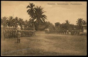 Germany Kamerun Postcard PPC  War Exercises Cameroun 85146