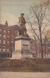 Netherlands Amsterdam Standbeelt Rembrandt