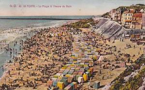 LE PORTEL, La Plage o l'heure du Bain, Pas de Calais, France, PU-1949