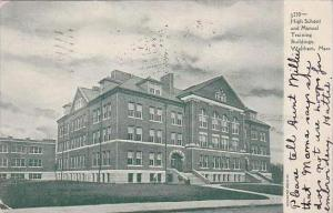 Massachusetts Waltham High School And Manual Training 1908
