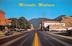 Missoula Montana~Main Street~Turmell-DeMarois Oldmobile Car Dealer~1960s Cars~PC