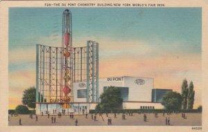 New York World's Fair 1939 Du Pont Chemistry Building sk1935