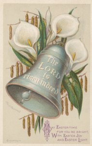 EASTER ; Flowers & Bell , 1917 ; CLAPSADDLE
