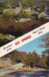Greetings From Hot Springs Nat'l Park Arkansas 1963