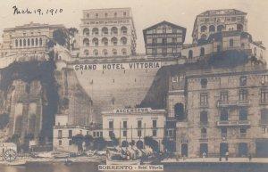RP: SORRENTO, Italy, 1900-1910's; Le Grand Hotel VITTORIA , NPG