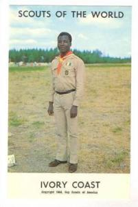 Boy Scouts of the World, Ivory Coast,40-60s