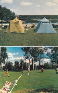 Golf & Camping , DOLBEAU , Quebec , Canada , PU-1960