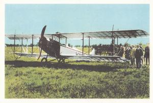 First Toronto To Ottowa Airmail Service 1918 WW1 Postcard