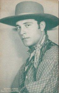 Cowboy Actor RICARDO CORTEZ, 30s-40s,