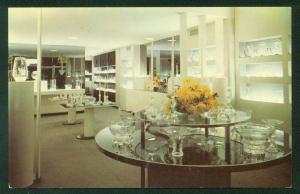 Steuben Exhibition Area Corning Glass Center New York NY Postcard