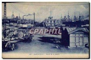 Postcard Old Marseille Bassin de la Joliette