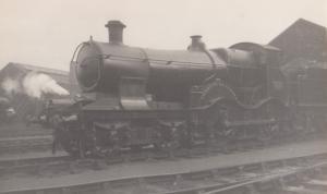 GRW 4170 Train Charles Saunders Wiliam Dean Real Photo Postcard