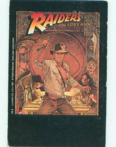 1984 Postcard Ad RAIDERS OF THE LOST ARK - ON VHS TAPE STEVEN SPIELBERG AC7383