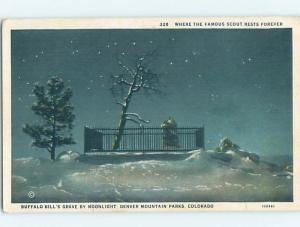 Unused W-Border BUFFALO BILL GRAVE Golden Colorado CO HM8343-12